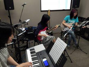 T-Music Yokohama のレッスンの様子