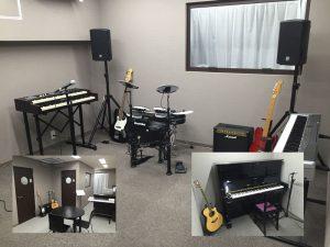 T-Music Yokohama 6つの魅力 【その2】防音スタジオを2部屋完備!