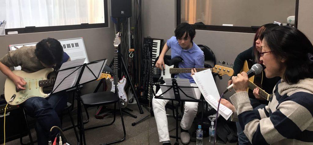 T-Music Yokohama 独自スペシャルレッスン 40代からのロックバンド